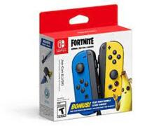 Nintendo Switch Joy Con Controllers (2-Pack) (Fortnite Edition Blue/Yellow)
