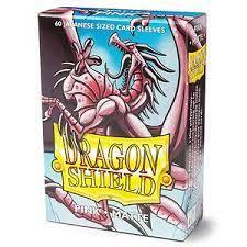 Dragon Shield Japanese Sized Card Sleeves (60 Ct)- Matte Pink