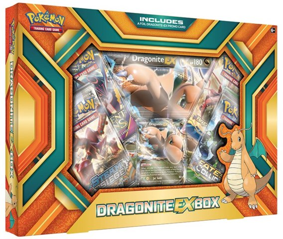 Dragonite EX Box