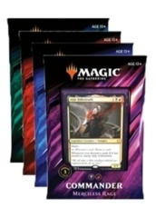 Commander Deck 2019 Set of 4