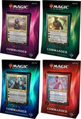 Commander Deck 2018 Set of 4