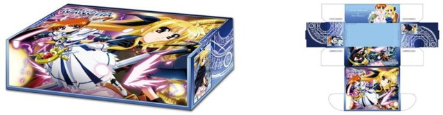 Bushiroad Storage Box Collection Vol. 024 Magical Girl Lyrical Nanoha The Movie 1st Nanoha & Fate