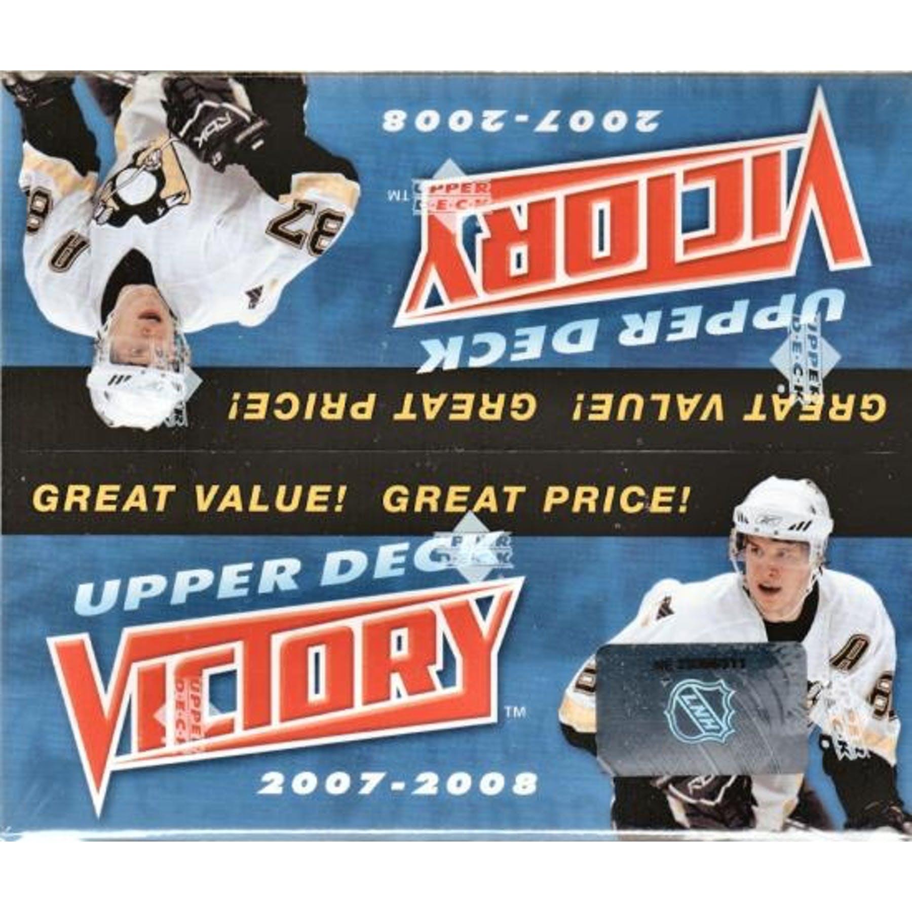 Upper Deck 2007-08 Victory Box