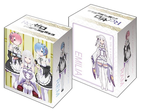 Bushiroad Deck Holder Collection V2 Vol. 093 Re:Zero kara Hajimeru Isekai Seikatsu Emilia & Ram & Rem