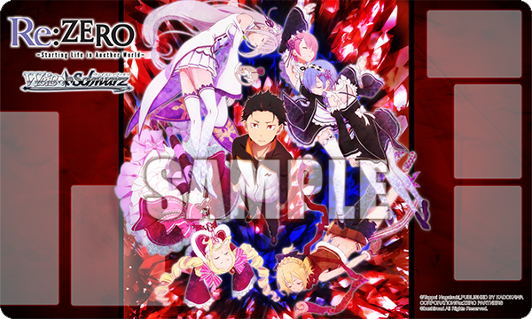 Weiss Schwarz Re:Zero Playmat (Case Exclusive)
