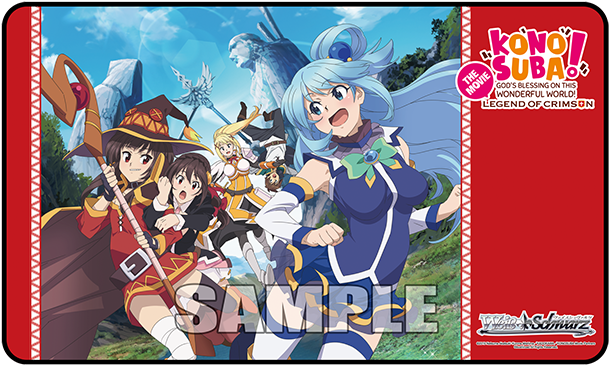 Weiss Schwarz Konosuba: Legend of Crimson Playmat (Case Exclusive)