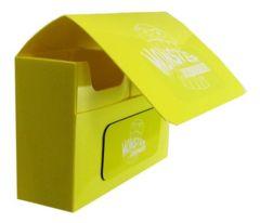 Monster Deck Box: Double Matte Yellow