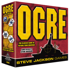 OGRE The Classic Game of Future Tank Warfare