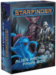 Starfinder RPG: Pawns - Alien Archive 3 Pawn Box