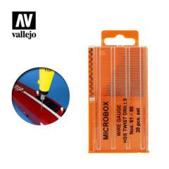 Vallejo Tools - Drill Bit Set (x20)