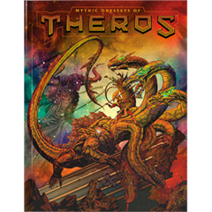 Dungeons & Dragons Mythic Odysseys of Theros Alt cover