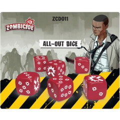 Zombicide 2nd Edition: All-Out Dice