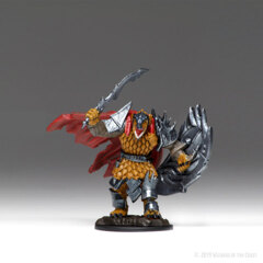 Icons of the Realms Premium Miniatures: Dragonborn Fighter