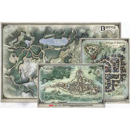 Curse of Strahd - Map Set