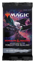 Adventures in the Forgotten Realms Draft Booster Pack