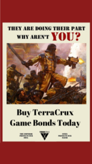 $30 TerraCrux Games Bonds
