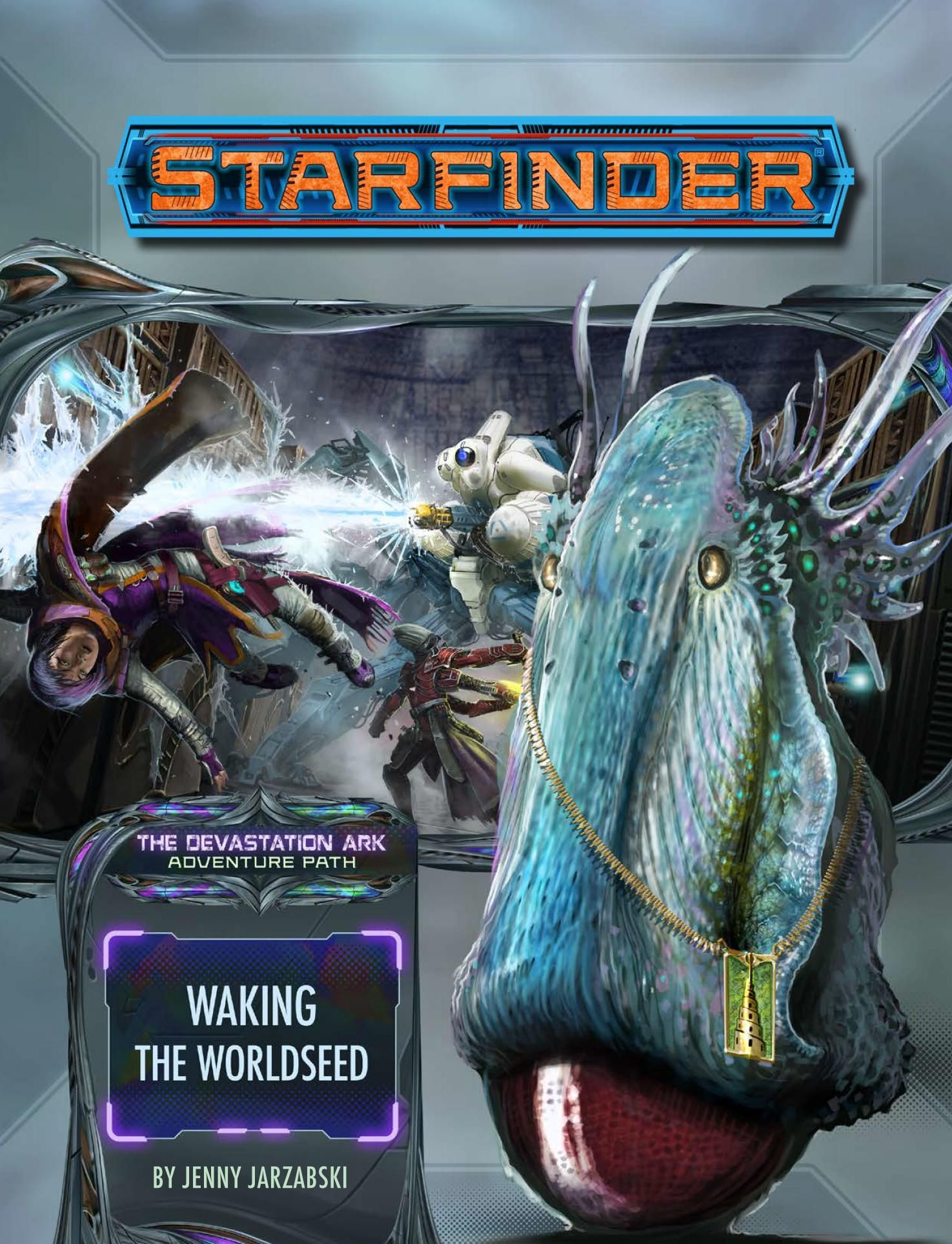 Starfinder RPG: Adventure Path - Devastation Ark Part 1 - Waking the Worldseed