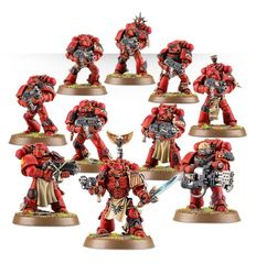 Special Order: Blood Angels Tactical Squad