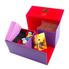 Dex Creation Line Deck Box Large: Purple