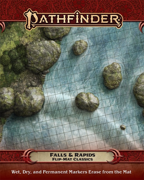 Pathfinder RPG: Flip-Mat Classics - Falls and Rapids