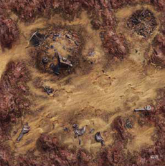 Star Wars: Legion - Desert Junkyard Gamemat