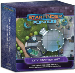 Starfinder RPG: Flip-Tiles - City Starter Set