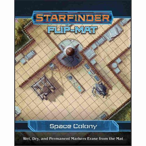 PREORDER Starfinder RPG: Flip-Mat - Space Colony