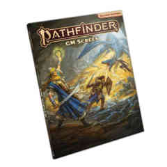 PATHFINDER RPG - SECOND EDITION: GM SCREEN