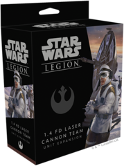 Star Wars: Legion 1.4 LD Laser Cannon Team