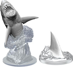 Deep Cuts Unpainted Miniatures: W9 Shark