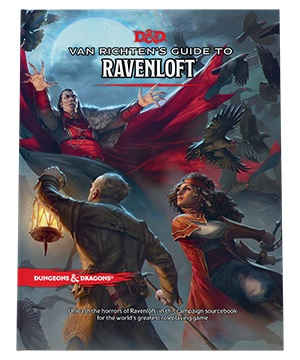 Dungeons and Dragons RPG: Van Richten`s Guide to Ravenloft Hard Cover