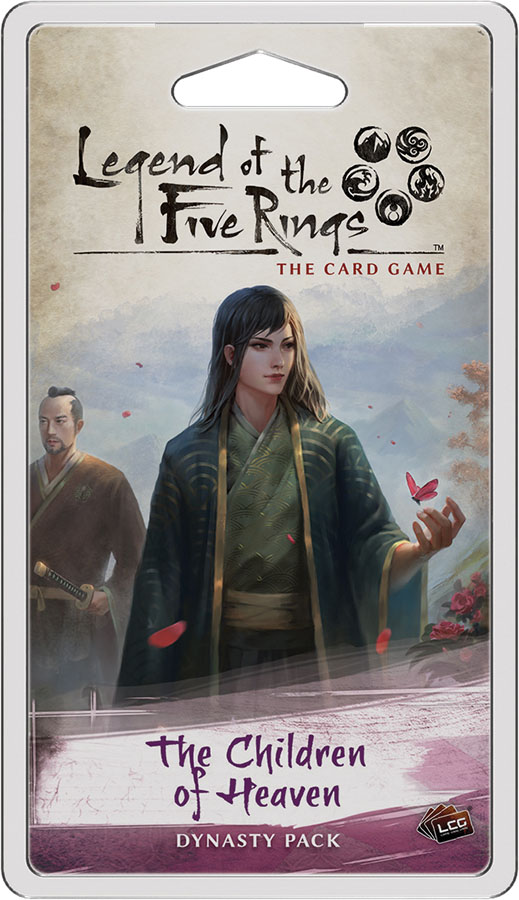 Legend of the Five Rings LCG: The Children of Heaven Dynasty Pack