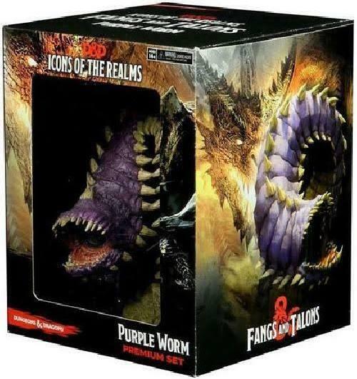 Icons of the Realms: Purple Worm Premium Set