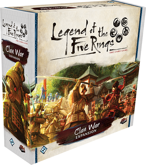 Legend of the Five Rings LCG: Clan War Premium Expansion