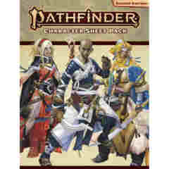 PATHFINDER RPG - SECOND EDITION: CHARACTER SHEET PACK
