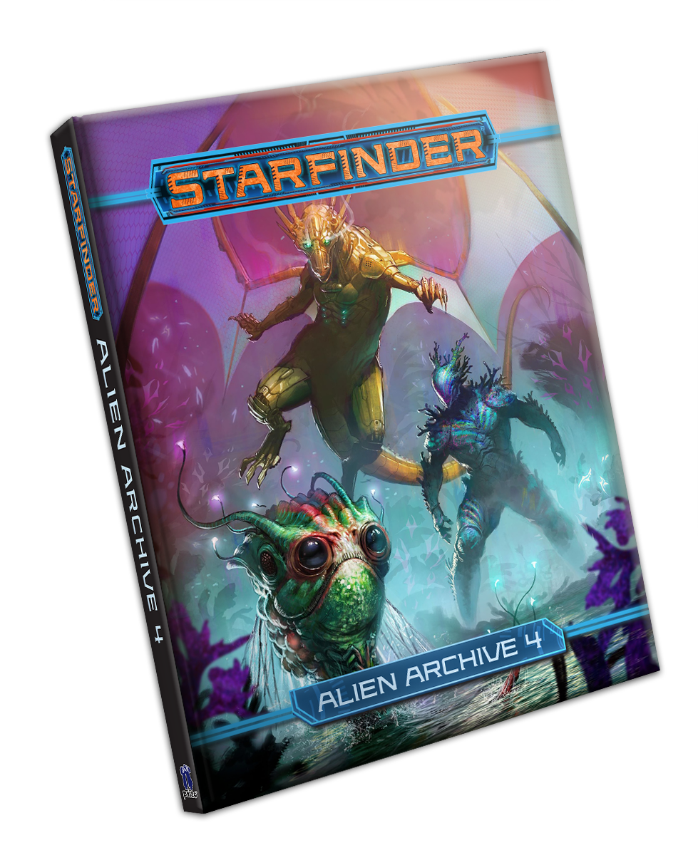 Starfinder RPG: Alien Archive 4 Hardcover