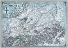 Icewind Dale: Ten Towns Map
