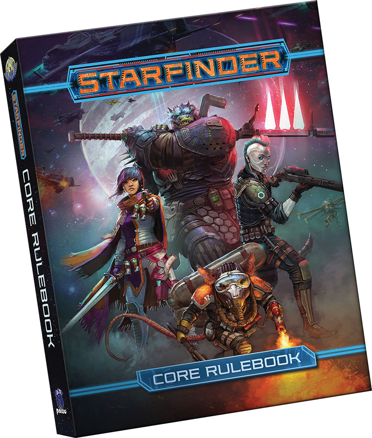 Starfinder RPG: Core Rulebook (Pocket Edition)