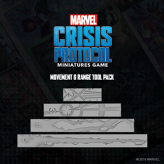 Marvel: Crisis Protocol - Movement & Range Tool Pack