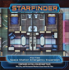 Starfinder RPG: Flip-Tiles - Space Station Emergency Expansion