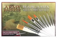 The Army Painter: Wargames Mega Brush Set