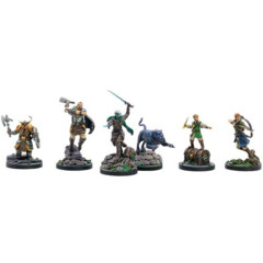 D&D Collector's Series: Drizzt and The Companions of The Hall