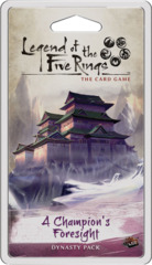 Legend of the Five Rings LCG: A Champion's Forsight Dynasty Pack