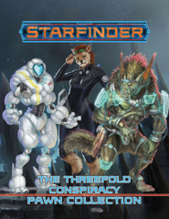 Starfinder RPG: Pawns - The Threefold Conspiracy Pawn Collection