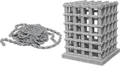 Pathfinder Battles Unpainted Minis - Cage & Chains