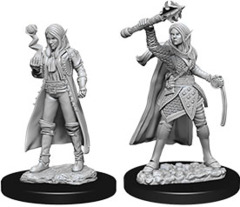 Dungeons & Dragons Nolzur`s Marvelous Unpainted Miniatures: W10 Female Elf Cleric