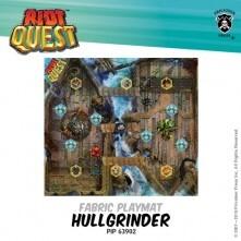 Riot Quest: Hullgrinder Pirate Ship Fabric Playmat