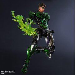 DC Comics - Variant Play Arts - No. 3 Green Lantern