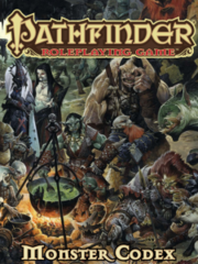 Pathfinder Roleplaying Game Monster Codex