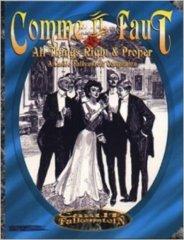 Comme Il Faut - A Castle Falkenstein Companion